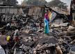 1 victim of Mirpur slum fire dies