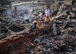 Second fire in Mirpur slum in 5 months