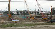 In Pictures: Work for Dhaka airport's 3rd terminal...