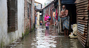 In pictures: Rain causes waterlogging