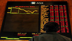 Asian stock markets mixed as gains cashed...