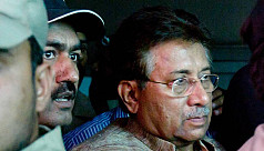 Pervez Musharraf shown arrested in Benazir...