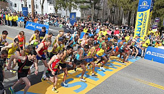 Boston Marathon 2013 begins