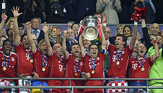 Bayern Champions of Europe