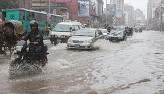 Storm causes water-logging in