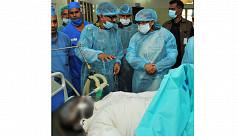 Injured Savar rescue worker dies in...