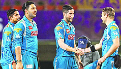 Kolkata out of IPL after loss to...