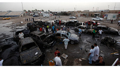 More than 70 killed in wave of Baghdad...