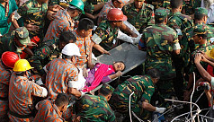 Reshma rescued in Rana Plaza...