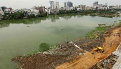 Rajuk fills in Gulshan Banani Lake to...