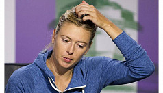 Federer, Sharapova crash out on black...