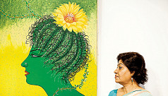 Nasreen's works depict harmony between...