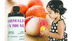 Formalin in fruits can be fatal