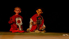 Puppet theatre for children on...