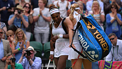 Sloppy Serena stunned at Wimbledon