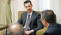 Syria's Assad says only foreign invasion...
