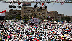 Tens of thousands of Morsi supporters...