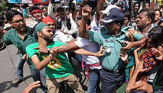 Police foils Shahbagh protests