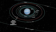 Nasa finds new moon on Neptune