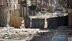 Rival rebel factions fight in Syria's...