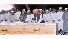 MP Sabur laid to rest