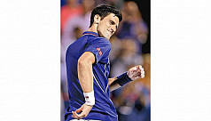 Djokovic light on his feet in opening...