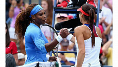 Serena races to eighth title of year...