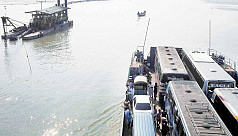 Traffic jam eases at Daulatdia as ferry...