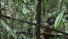 Video shows isolated Indian tribe in...