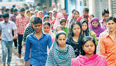 Almost 90% of Bangladesh's workers are...