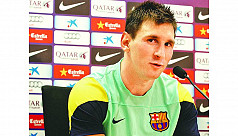 Messi out for two to three weeks