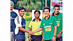 Charity football tournament held