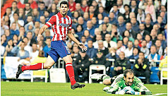 Costa ruins Bale home debut in Madrid...