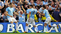 City thrash United 4-1 in Manchester...