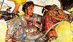 The people who put Alexander the Great...