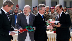 Germany hands over military base to...