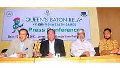 Queen's Baton to land in Dhaka...