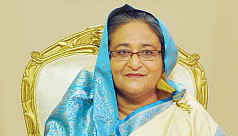 PM Hasina leaves for Rome Sunday