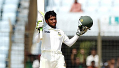 Mominul's maiden Test ton lifts...