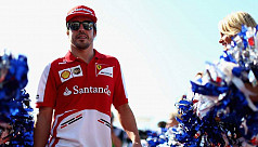 Stressed Alonso fighting forlorn battles...