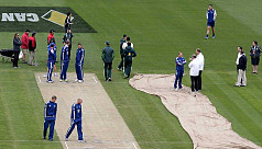 Rain stalls England's charge against...