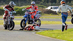 Racer Romboni dies after accident at...