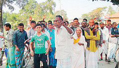 Farmers protest price hike of...