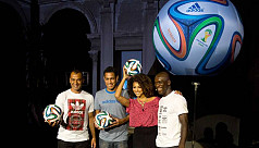 Brazuca unveiled as ball for Brazil...
