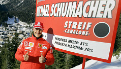 Schumacher accident not due to skis,...