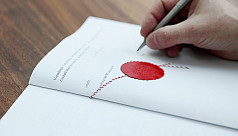 Availing notary services in...