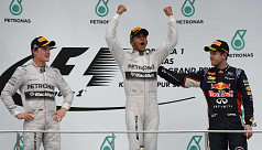 Hamilton leads Mercedes to big win in...