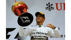 Hamilton seals first F1 hat-trick