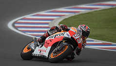Marquez tops in Argentina, Yamaha...