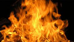 Fire at Green Delta Life Insurance building...